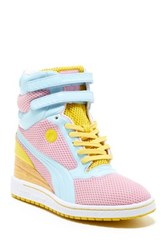 Puma My 77 Wedge Sneaker Pink