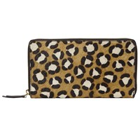 John Lewis Liv Leather Travel Wallet Animal
