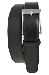 Men's Boconi 'Collins' Leather Belt Black