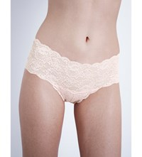Cosabella Never Say Never Lace Boyshort Briefs Pink Lily