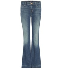 J Brand Another Lovestory Flared Jeans Blue