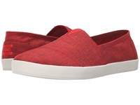 Toms Avalon Slip On Red Brushed Nylon Men's Slip On Shoes