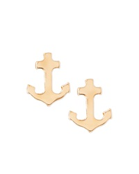 Jules Smith Designs Jules Smith Mini Anchor Stud Earrings