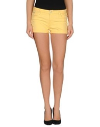 Lee Denim Shorts Yellow