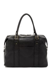 Bueno Of California Travel Whipstich Duffle Black