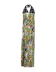 Naughty Dog Long Dresses Green