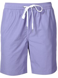 Onia 'Charles' Swim Shorts Pink And Purple