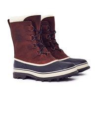 Sorel Caribou Waterproof Leather Boot Brown