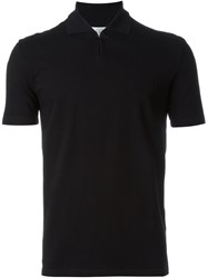 Maison Martin Margiela Maison Margiela Buttoned Polo Shirt Black