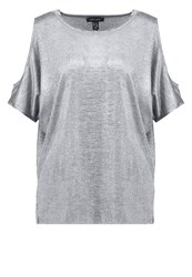 New Look Print Tshirt Silver