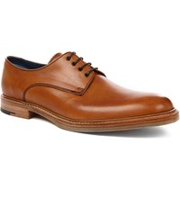 Barker Barnes Derby Shoes Tan