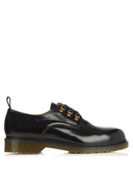 Ami Alexandre Mattiussi Derby Leather Lace Up Shoes Black