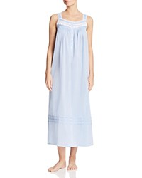Eileen West Sleeveless Ballet Nightgown Solid Stardust Chambray