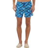 Roda Star Print Swim Shorts Blue