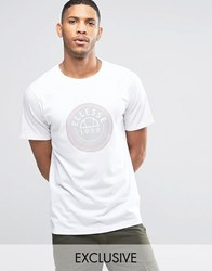 Ellesse T Shirt With Disc Logo White