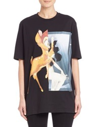 Givenchy Pop Collage T Shirt Chocolate Black