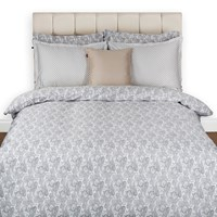 Gant Summer Paisley Duvet Cover Grey Super King