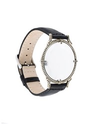 Ann Demeulemeester 'Xl Luope' Bracelet Watch Black
