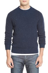 Wallin And Bros 'Donegal' Crewneck Sweater Blue