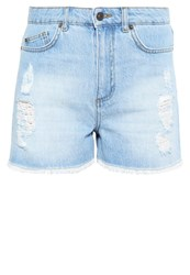 Vero Moda Vmnineteen Denim Shorts Light Blue Denim