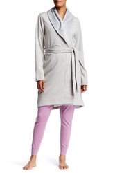 Ugg Blanche Mini Stripe Robe Gray