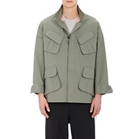 Twill Field Shirt Jacket Khaki