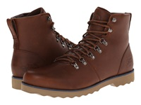 The North Face Ballard Ii Museum Brown Cosmic Blue Men's Lace Up Boots