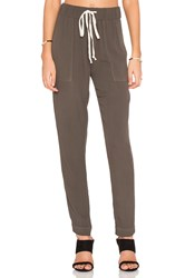 Enza Costa Easy Pant Green