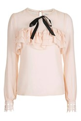 Glamorous Bow Detail Blouse By Nude