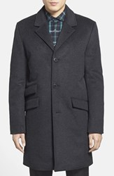 Men's Vince Camuto Topcoat Charcoal