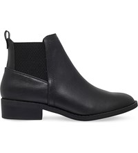 Miss Kg Tion Leather Ankle Boots Black