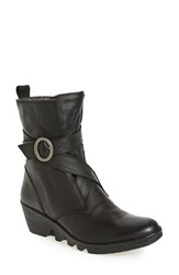 Fly London Women's 'Pong' Wedge Bootie