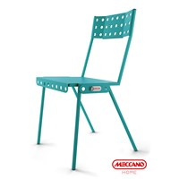 Meccano Home Bistrot Chair Blue