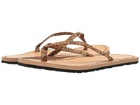 Volcom Lagos Cheetah Women's Sandals Animal Print