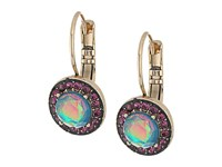 Betsey Johnson Butterfly Opal Drop Earrings Blue Earring