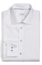 Eton Men's Slim Fit Solid Dress Shirt