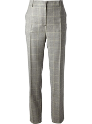 Mcq By Alexander Mcqueen Checked Suit Trouser Grey