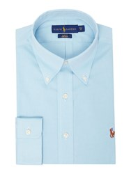 Polo Ralph Lauren Easycare Oxford Long Sleeve Shirt Turquoise