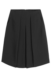Vince Skirt With Pleats Black