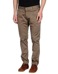 One Seven Two Casual Pants Khaki