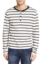 Men's Ezekiel 'Camden' Stripe Long Sleeve Henley