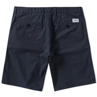 Norse Projects Aros Light Twill Short Blue
