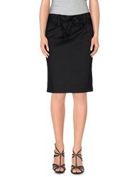Gianfranco Ferre Ferre' Skirts Knee Length Skirts Women Black