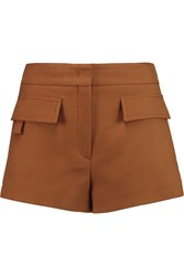 Emilio Pucci Cotton Twill Shorts Brown