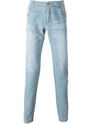 Ermanno Scervino Light Wash Jeans Blue