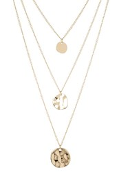 Sweet Deluxe Sandrina Necklace Goldcoloured