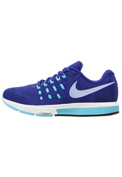 Nike Performance Air Zoom Vomero 11 Cushioned Running Shoes Concord Black Gamma Blue Summit White