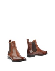 Fratelli Rossetti Ankle Boots Brown
