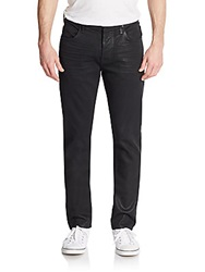 Hudson Wax Coated Skinny Jeans Unchartered