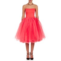 Loyd Ford Bustier Cocktail Dress Pink